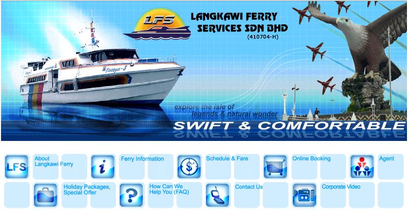 Langkawai Ferry Malaysia