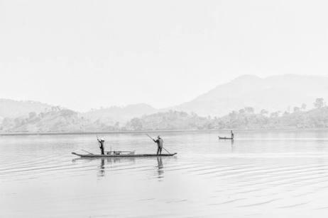 Trên hồ Lak On Lake Lak