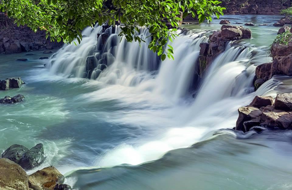 Thác Giang Điền The Falls River Filling