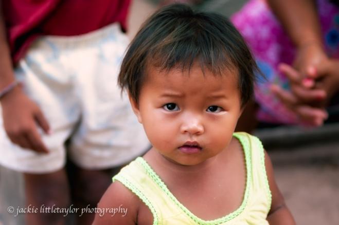 Issan Village Little Girl Thailand