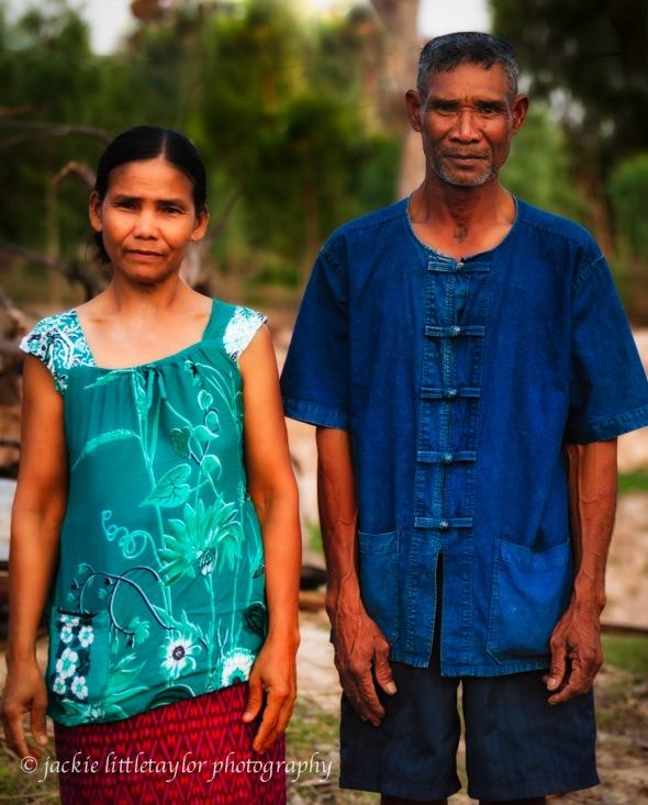Farm couple Issan Village Life