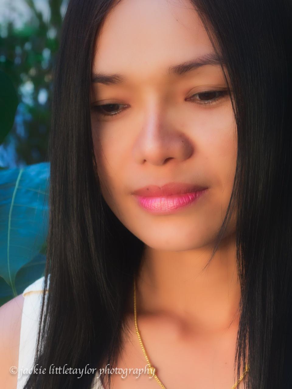 sweet lovely Thai woman