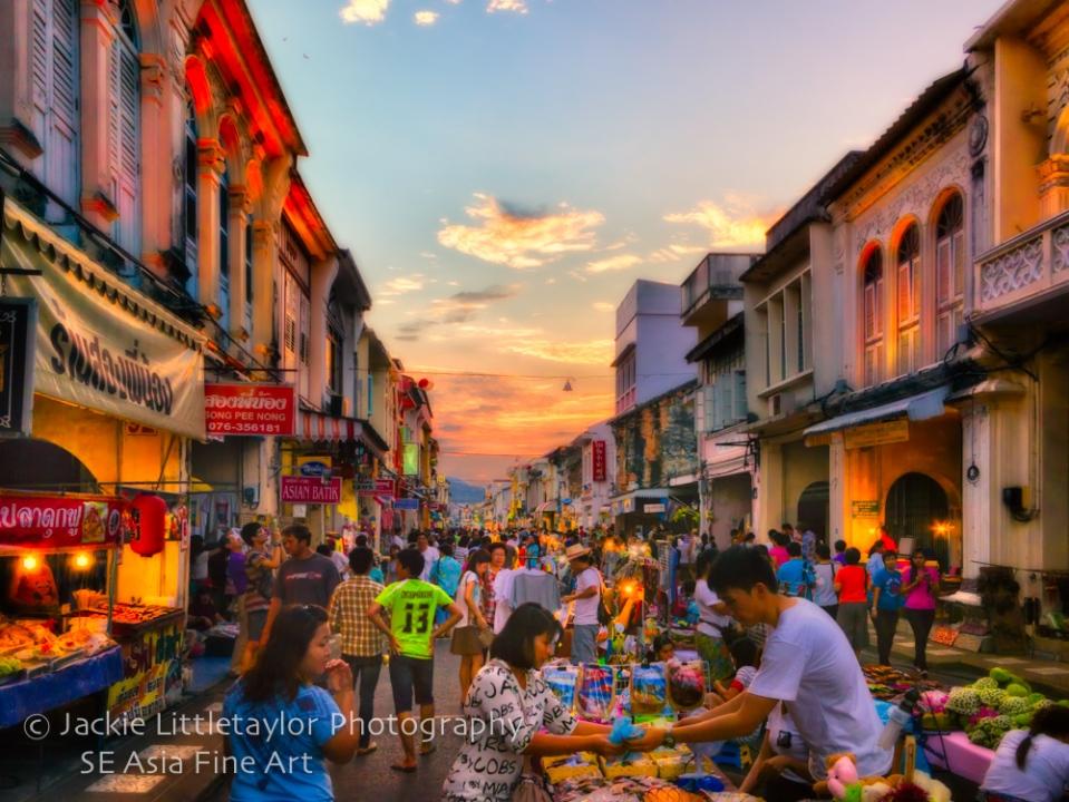 Old Town Phuket Walking market