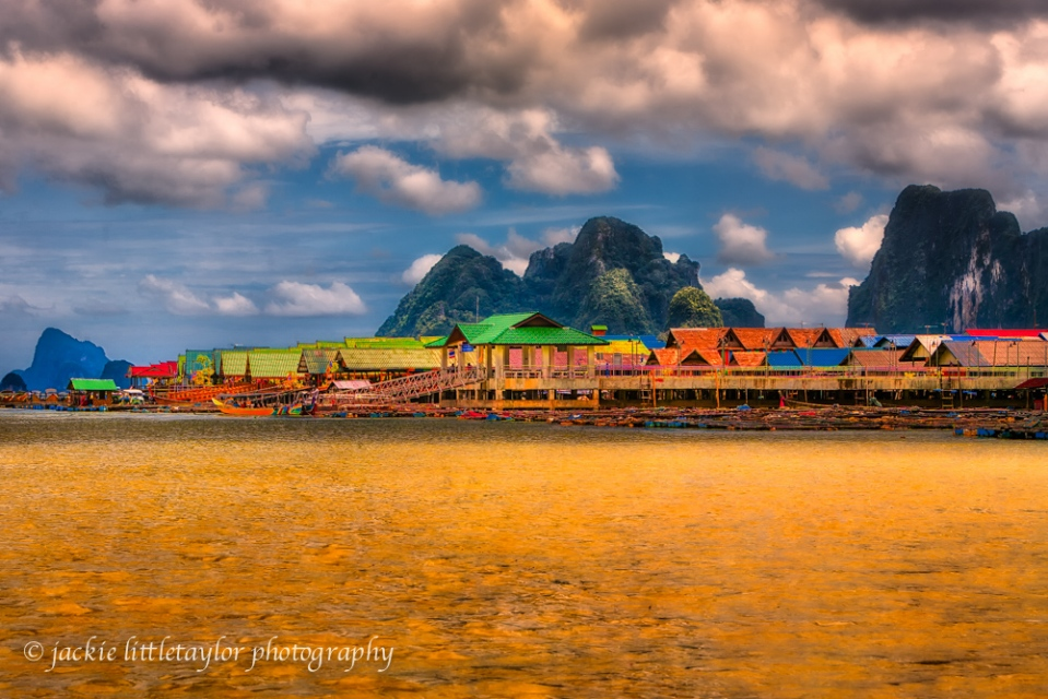 Koh Panyee Fishing Village  Thailand impression