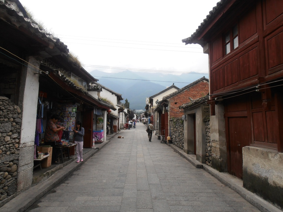 Beautiful Streets of Dali - Yunnan Province, Southern China