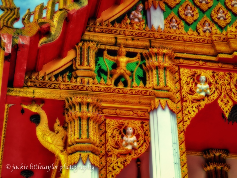 front Temple colorful