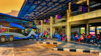 Bus Station Phuket passengers waiting 16x9