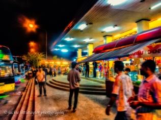 Bus stop Chumporn Thailand