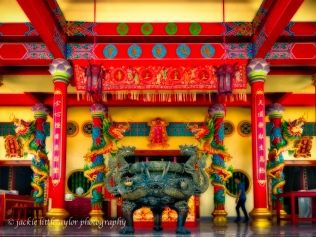 Guanau-Nabon Chinese Shrine Phuket Thailand