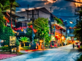 nightlife Kamala beach road Phuket impression
