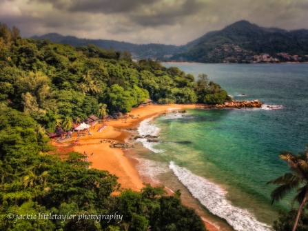 Laem Singh Beach evening Phuket impression