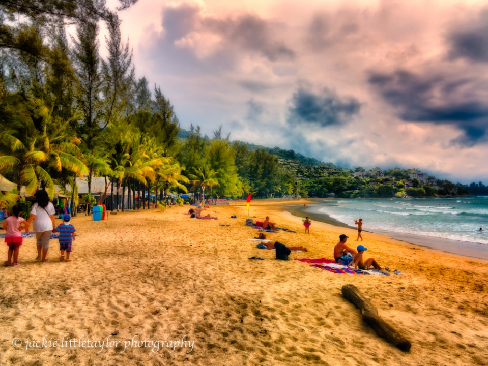 Kamala Beach evening