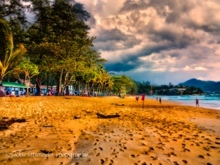 Surin Beach evening open beach
