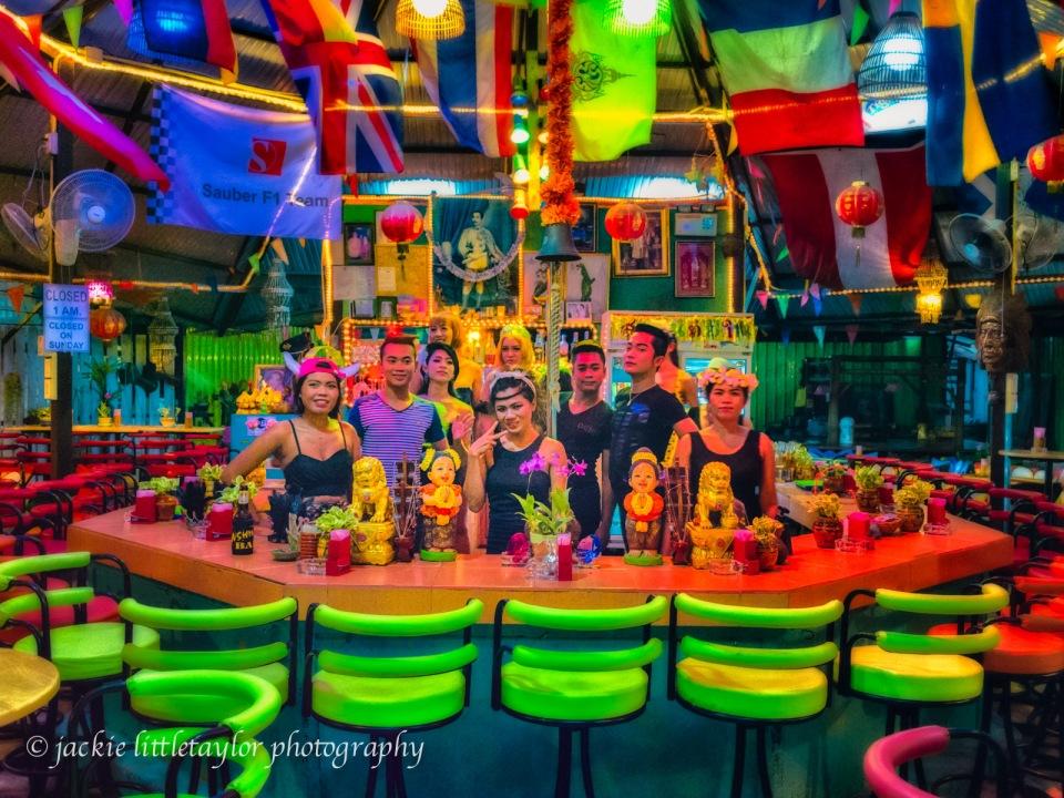 crew of entertainment Sunshine Bar