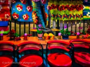 4 chairs at the Sunshine Bar