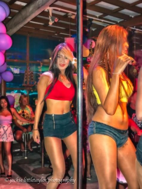 gogo dancers ATM Bar