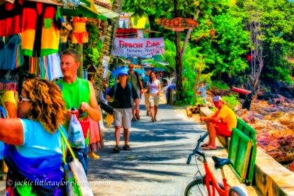 shopping tourist asia Phi Phi