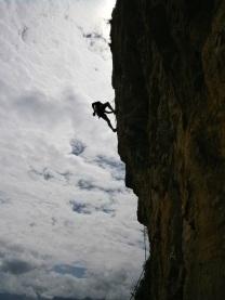 Rock-climbing Near Dali - Yunnan Province, Southern China