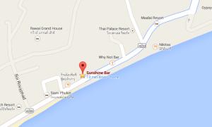 Map Sunshine Bar