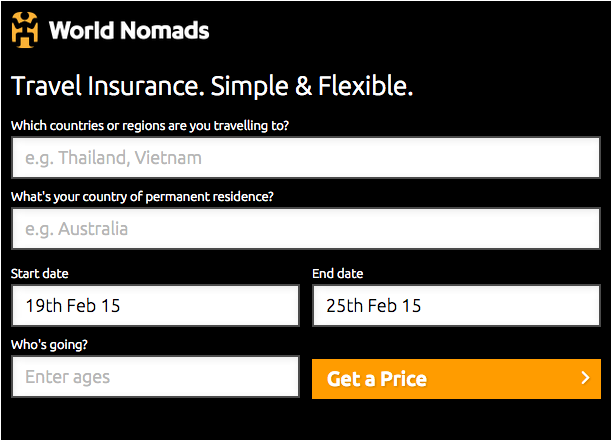 World Nomad Travel Insurance
