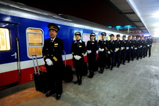 Train staff