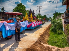 songkran in the villages Issan