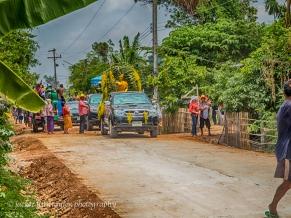 parade songkran issan village life