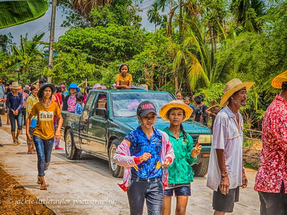 Issan Village Life Songkran Festival
