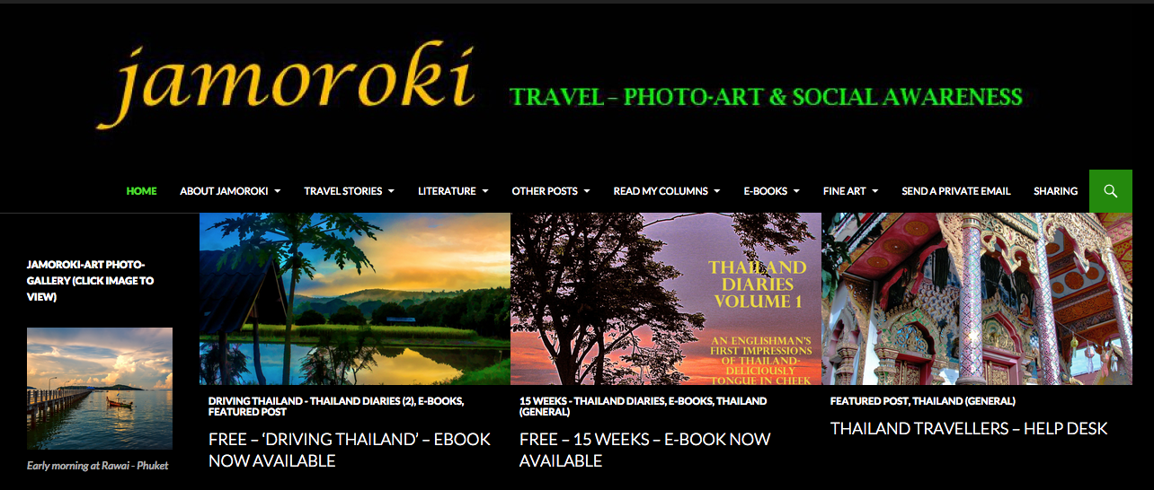 jamoroki Travel,Photo Art & Social Awareness