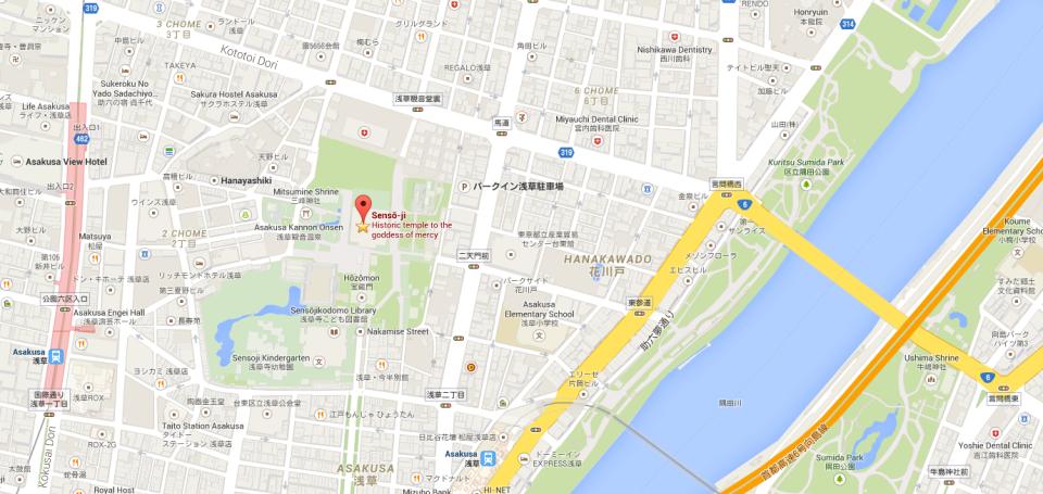 Senso-Ji Temple Tokyo Japan