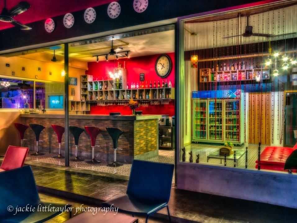 The Nine bar inside