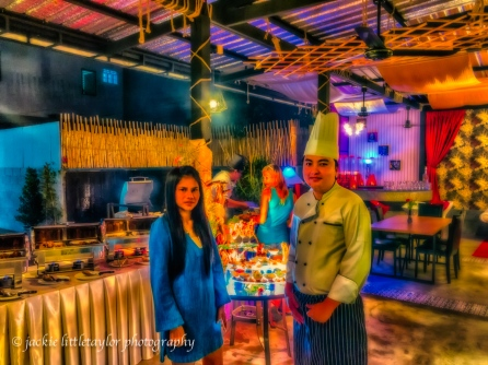 Head Chef European Pakapol Punyawutto and Owner K.Aom