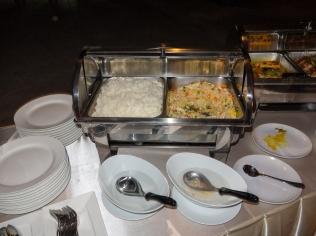 rice dish at the Nine