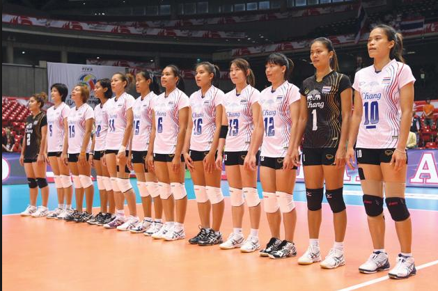 Thailand Women Volleyball Team