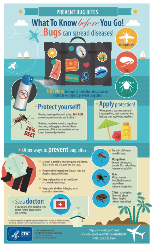 Prevent Bug Bites CDC