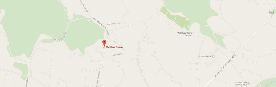 map wat Khao Durian