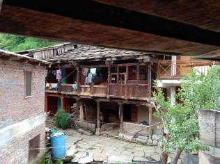 Himachali wooden house