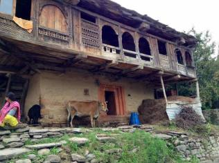 Himachali wooden house