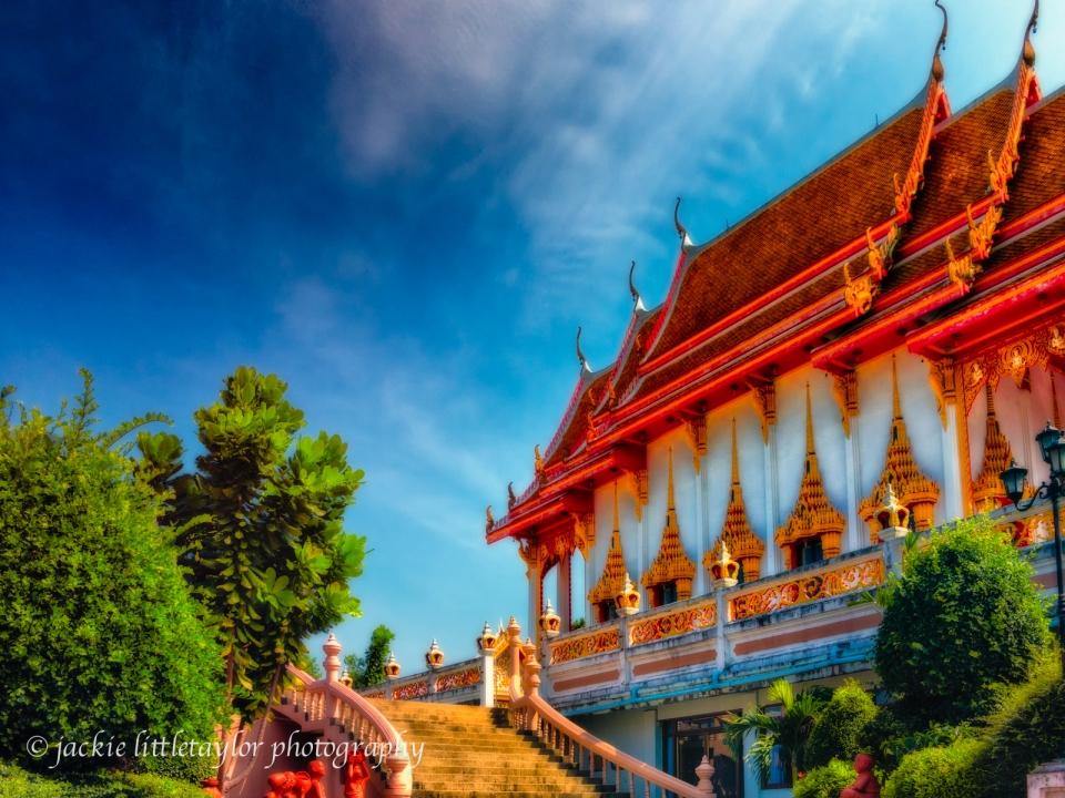 steps Wat Sapum Thammaram