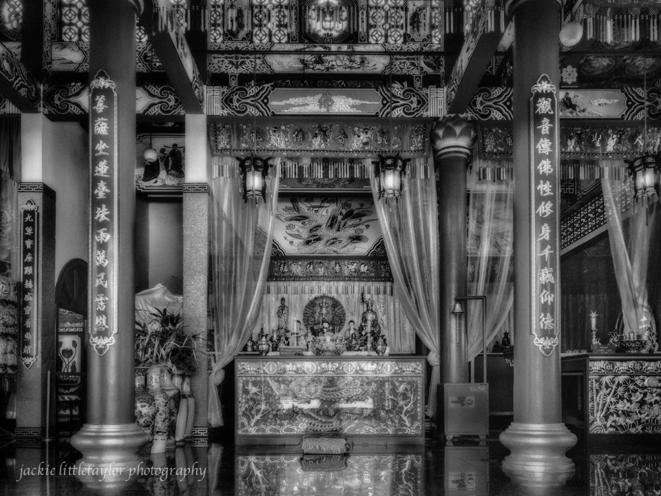 alter to gods  B/W