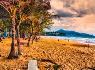 sunset Surin Beach