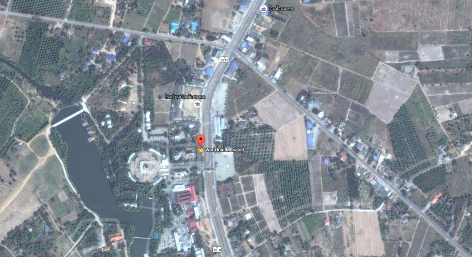 map Wat Huai Mongkol