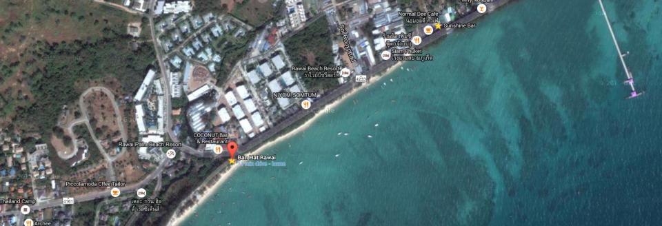 Map Sea Gypsy Village Rawai