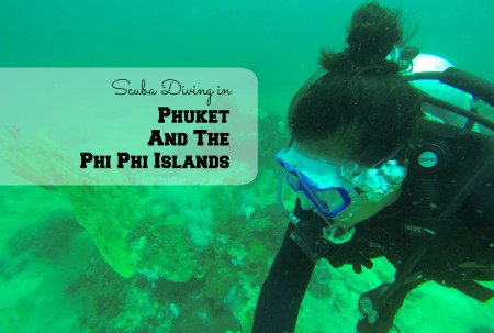 Scuba Diving in Phuket/Phi Phi - www.shewalkstheworld.com