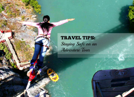 Bungee Jump - Travel Tip: Staying Safe on an Adventure Tour - www.shewalkstheworld.com