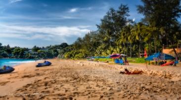 sunbathing of Kata Noi