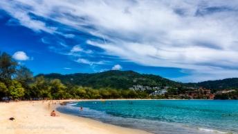 Kata Beach looking south