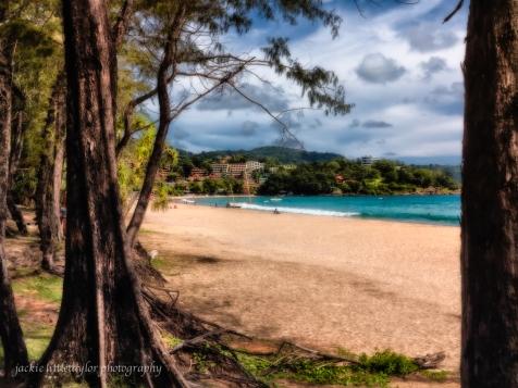 Kata Beach toward Kata Noi