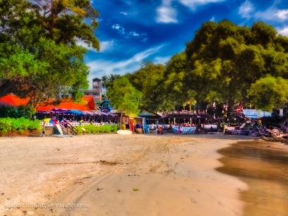 Restaurants Bars Kata Beach southern end