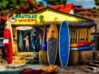 Nautilus Divers Kata beach